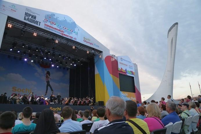 Юношеский оркестр в Сочи
