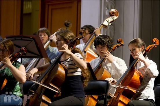 История создания, события и достижения Всероссийского юношеского симфонического оркестра под управлением Юрия Башмета.