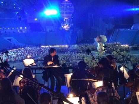 Юношеский оркестр на Олимпийских играх в Сочи