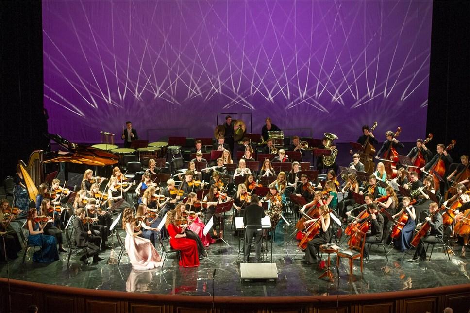 Всероссийский юношеский симфонический оркестр выступил в рамках культурной программы Российского инвестиционного форума в Сочи